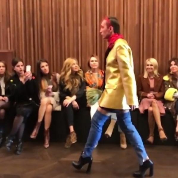 Ксения Собчак восхищается мужчинами на каблуках
