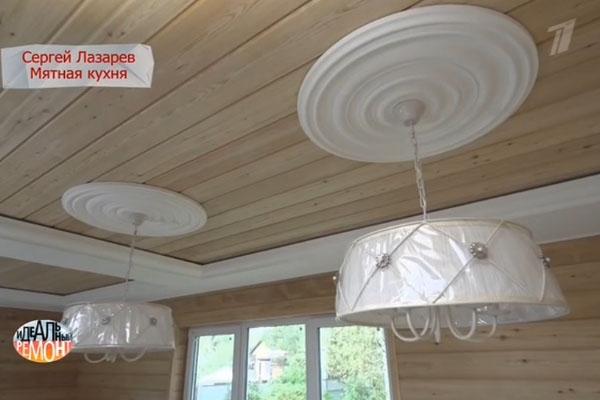 Сергей Лазарев удивил маму стильным ремонтом на даче