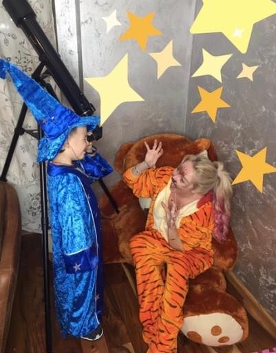 Звезды напугали своими образами на праздновании «Хеллоуина»