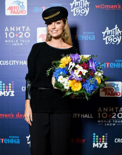 Анита Цой восхитила коллег новым шоу
