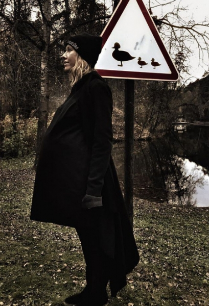 Веселый уик-энд: как развлекалась беременная Собчак