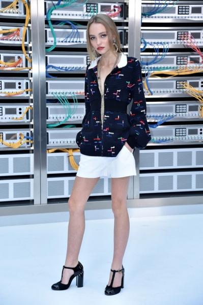 Лили-Роуз Депп призналась, что страдала анорексией