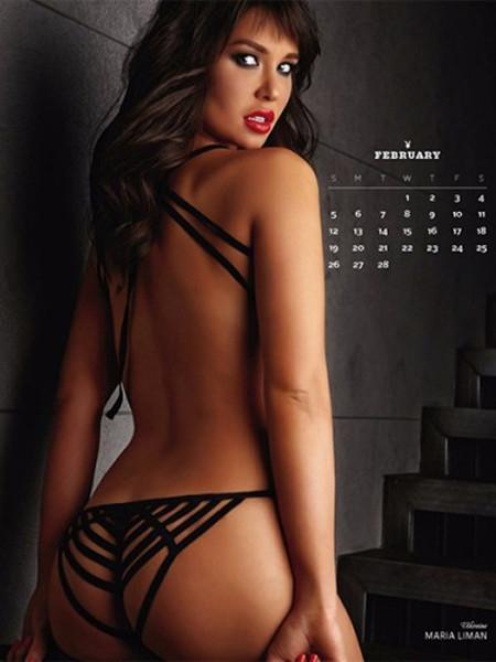 Российская модель снялась для календаря Playboy