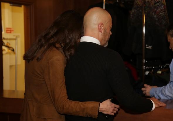 Федор Бондарчук и Паулина Андреева милуются на публике
