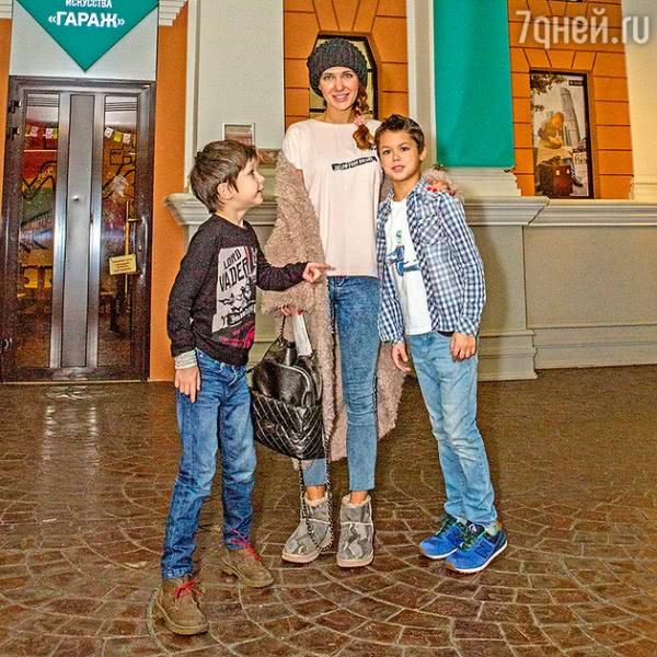 Эксклюзив: сыновья Екатерины Климовой выбрали героические профессии