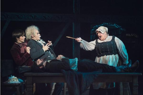 Звезды на премьере мюзикла «Бал вампиров»