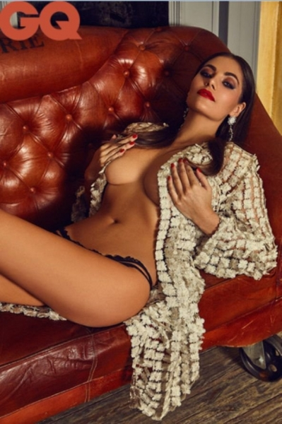 Модель из России Ангелина Волкова покорила мексиканский GQ