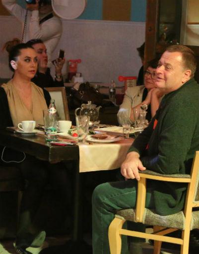 Семья Жанны Фриске посетила вечер ее памяти