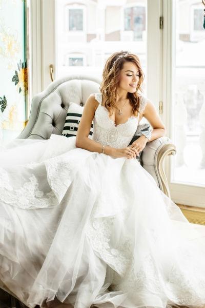 Избранник Галины Ржаксенской устроил ей свадьбу мечты. ФОТО