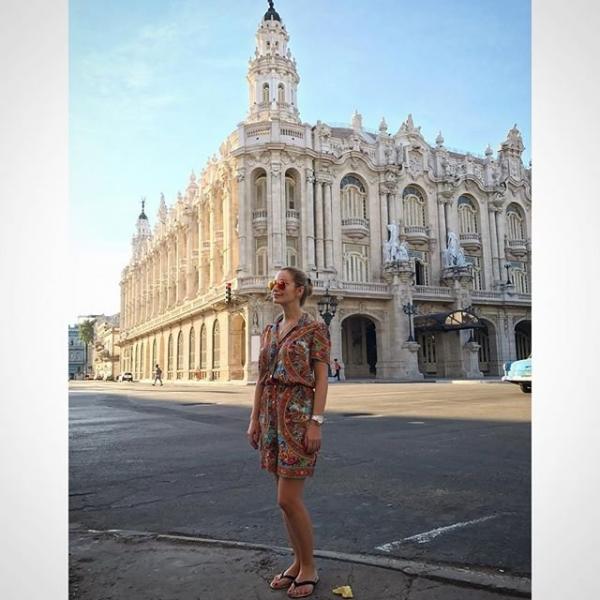 Ольга Орлова показала фотографии с отдыха на Кубе