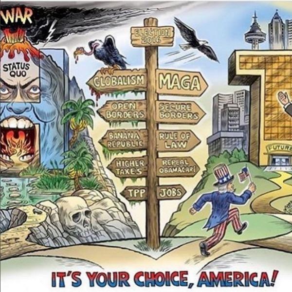 «Сделаем Америку снова великой!»: самые яркие мемы с выборов в США