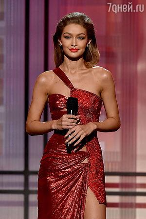 Джиджи Хадид стала главной героиней церемонии American Music Awards