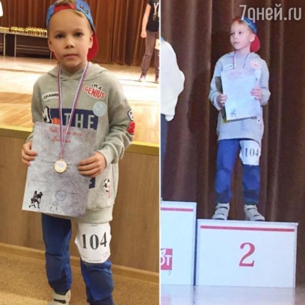 Ксения Новикова с гордостью рассказала об успехах сына