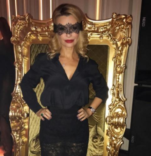 Ольга Орлова оторвалась на эротической вечеринке