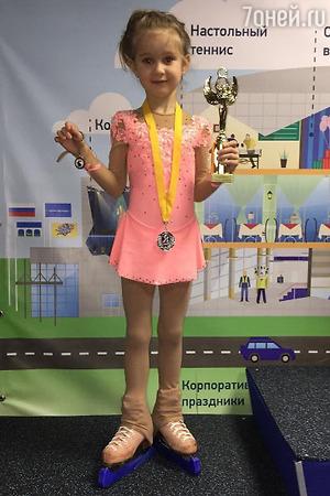 Дочку Ирины Слуцкой засудили на соревнованиях