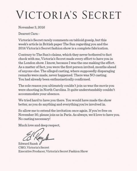 Британский таблоид счел Кару Делевинь «раздутой» для показа Victoria's Secret