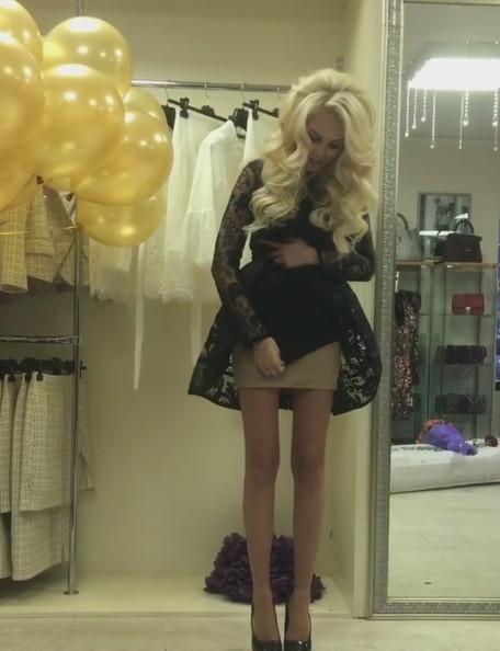 Мария Погребняк раскрыла секрет своего «голого» платья