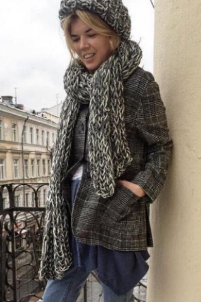 Беременная жена Александра Цекало снялась в модной фотосессии