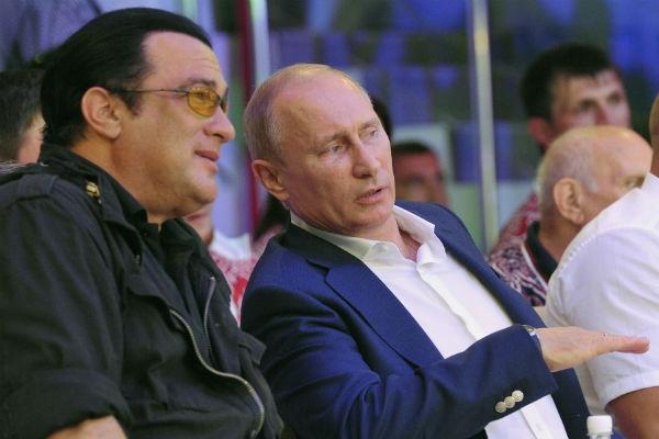 Стивен Сигал стал гражданином России