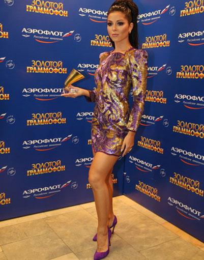 Алла Пугачева произвела фурор на вручении «Золотого граммофона»