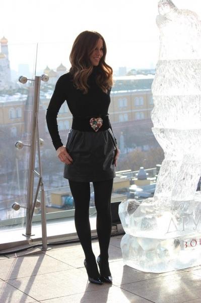 Голливудская звезда Кейт Бекинсейл представила свой новый фильм в Москве