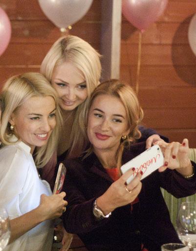 Ирина Агибалова по-королевски отметила день рождения
