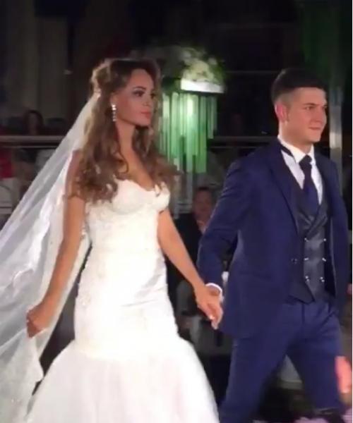 Анна Калашникова отрепетировала свадьбу