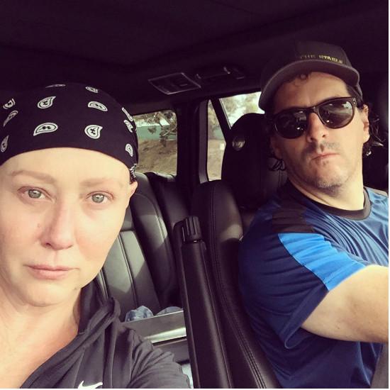Больная раком Шеннен Доэрти вернулась к съемкам
