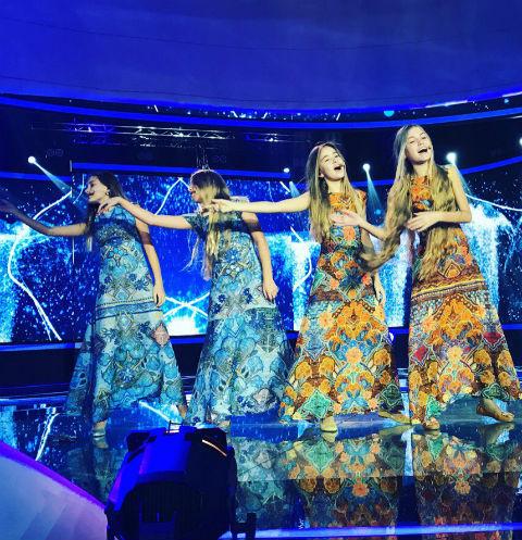 Участницы детского «Евровидения»: «Наша песня отличается от других»
