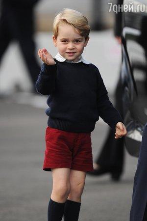 Сын Бена Аффлека пострадал из-за принца Джорджа