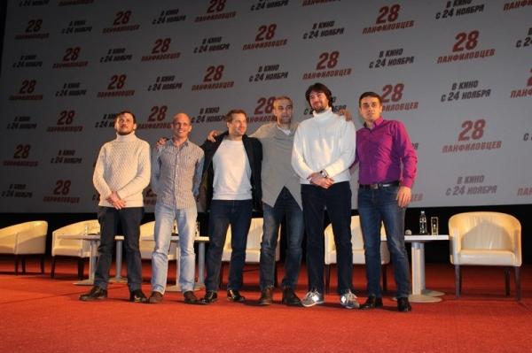 Создатели народного фильма «28 панфиловцев» представили картину в Москве