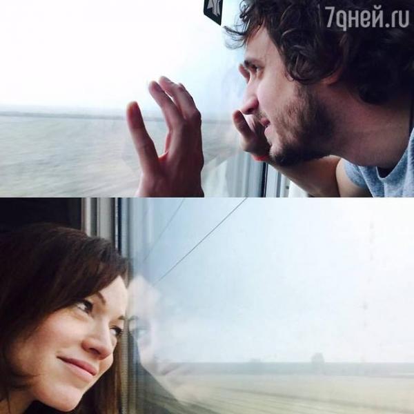Алена Хмельницкая уехала с любимым в романтическое путешествие