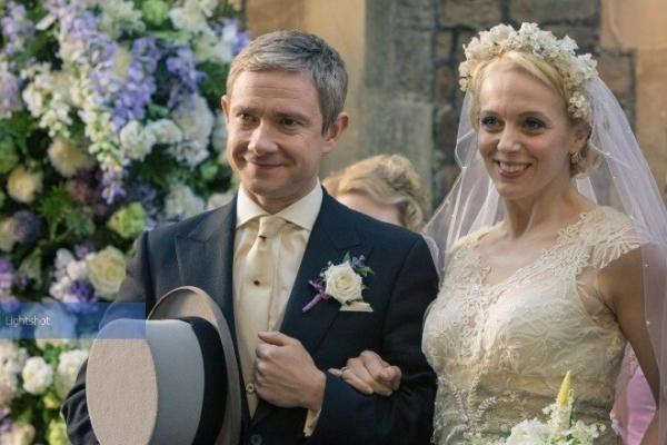 Звезда сериала «Шерлок» расстался с супругой