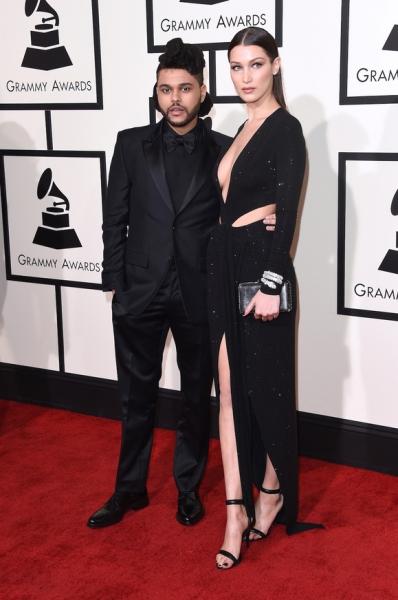 Белла Хадид и The Weeknd встретились на шоу Victoria's Secret 2016