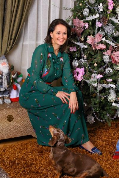 Ольга Кабо с шиком нарядила загородный дом