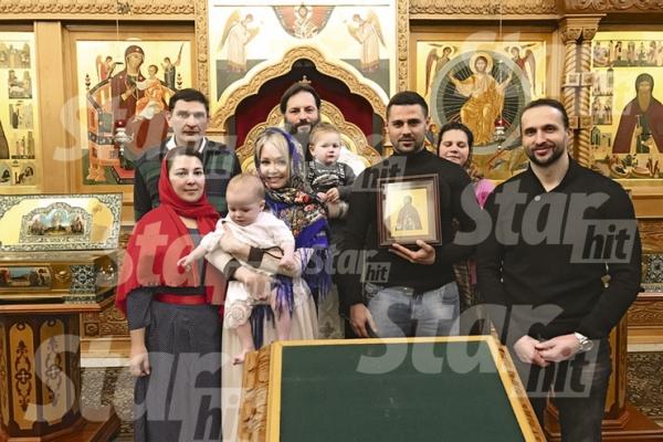 Звезда «Дома-2» Дарья Пынзарь крестила сына. ФОТО