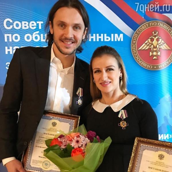 Беременную Татьяну Волосожар наградили орденом