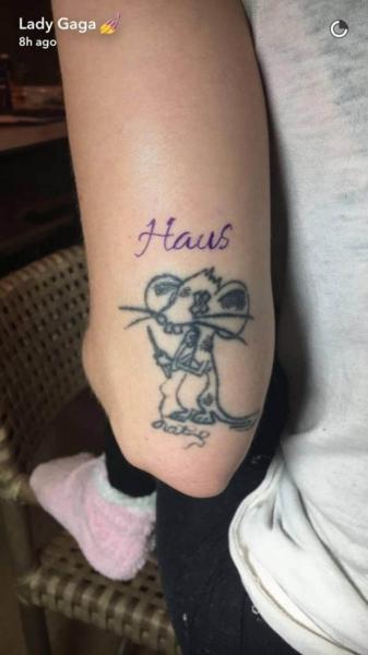Леди Гага сделала новое тату