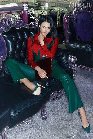 Девушка Тимати делает успехи в модельном бизнесе