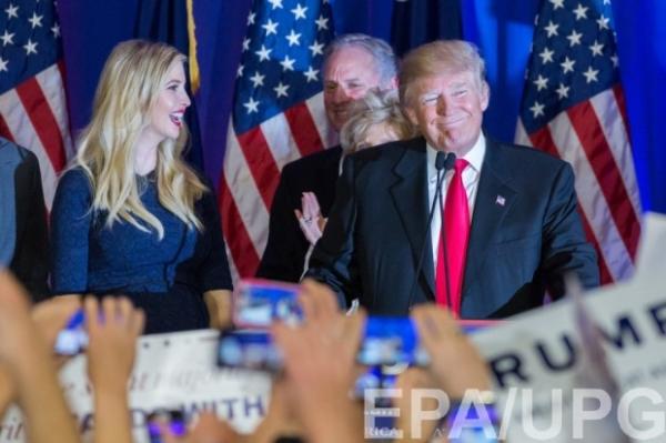 СМИ: Иванка Трамп займет место первой леди в Белом доме
