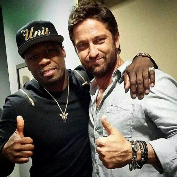 50 Cent и Джерард Батлер сыграют в криминальном триллере