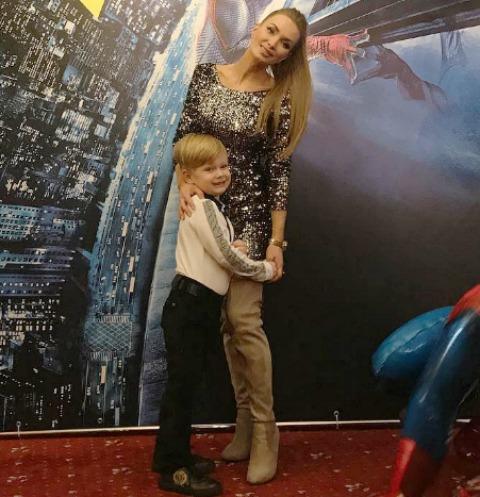 Евгения Феофилактова не пригласила Антона Гусева на день рождения сына