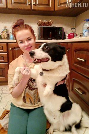 Елена Князева завела необыкновенную собаку