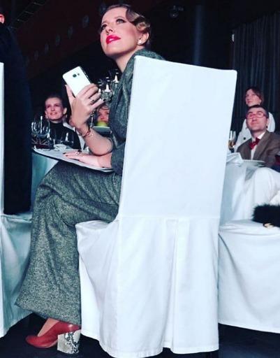 Ксения Собчак произвела фурор на благотворительном аукционе