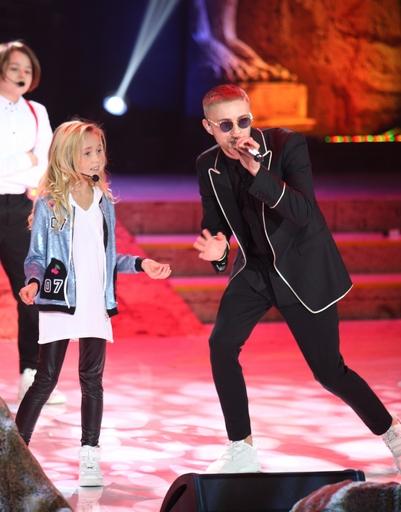Дети Филиппа Киркорова произвели фурор на музыкальной премии