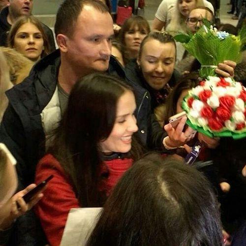 Наталья Орейро чуть не пострадала от собственных фанатов