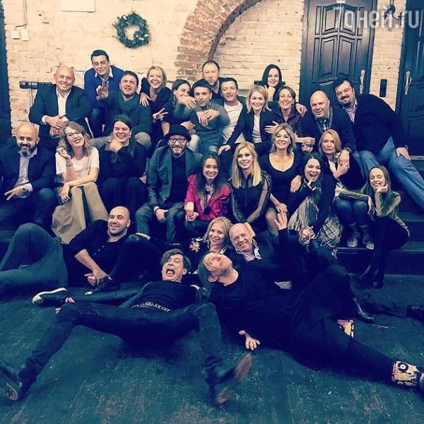 Максим Виторган заранее отметил Новый год
