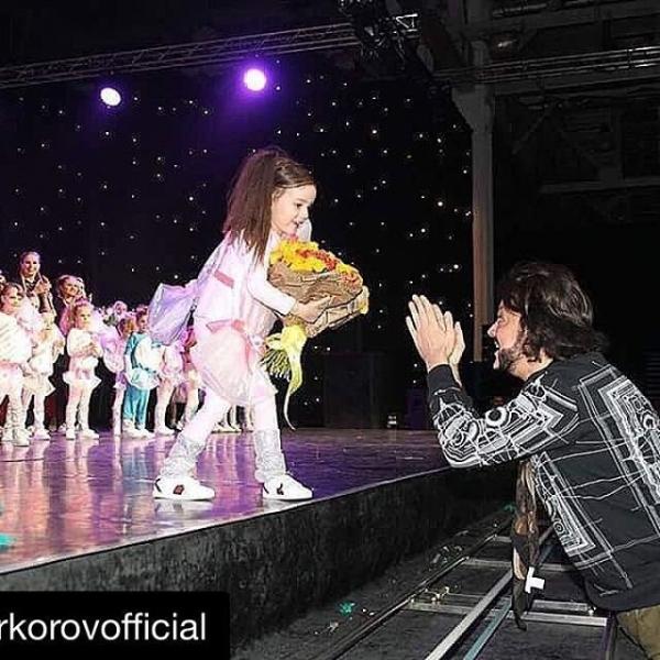 Дочка Филиппа Киркорова впервые выступила на сцене