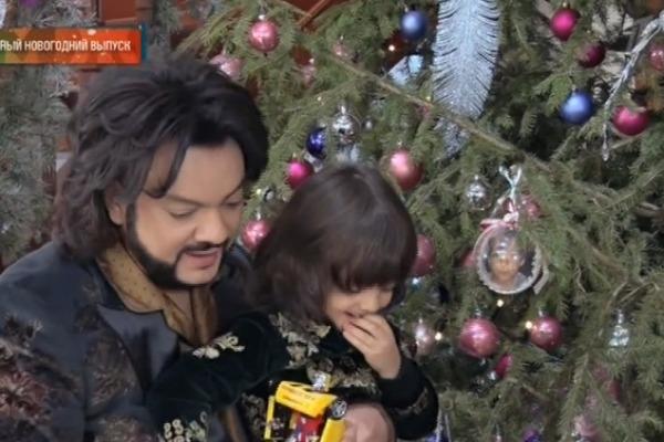 Филипп Киркоров похвастался новогодней обстановкой в особняке