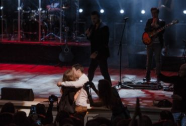 Hall cried: Emin helped a fan make a proposal to your